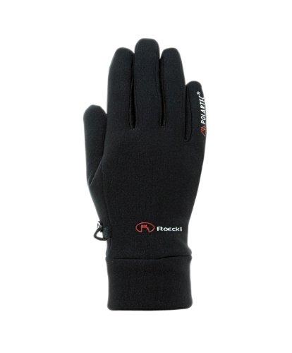 Roeckl Kinder Pino Jr. Handschuhe, Schwarz, 4