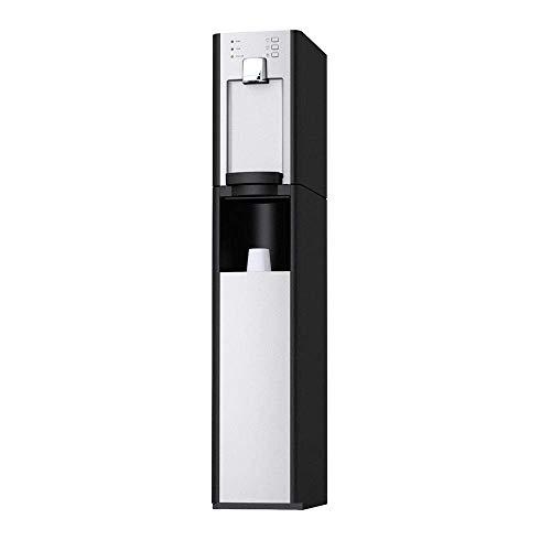 SPRUDELUX Auftisch-Trinkwassersystem RED Diamond inkl. Unterschrank + Filtereinheit + Druckminderer. Profi-Wassersprudler. Heißwasser/Spritziges Mineralwasser/Sprudelwasser (Mit 6 KG CO2 Flasche)