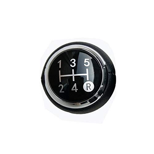 SAXTZDS Pomo de cambio de coche de 5 velocidades y 6 velocidades cubierto, para Toyota AVENSIS YARIS D4D URBAN RAV4 CRUISER ALTIS SCION TC