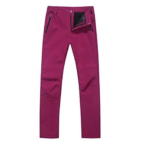 N\P Pantalones de senderismo de invierno para hombre al aire libre a prueba de viento y cálido camping senderismo