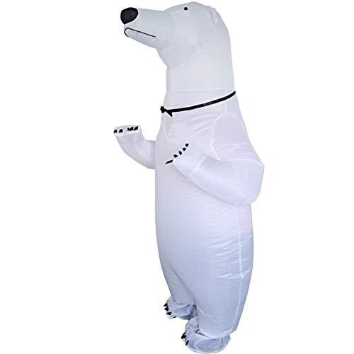 LLVV Costumi gonfiabili per Adulti Costume da Orso Polare di Halloween per Adulti Costumi da Festa per Donna Cosplay Carnevale Purim