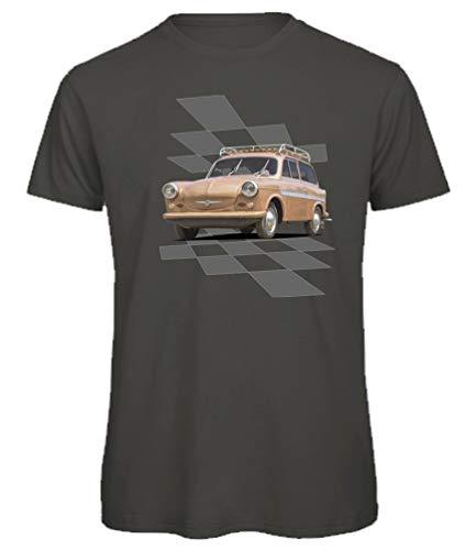 BuyPics4U T-Shirt mit Motiv von Trabant Tr81 100% Baumwolle für Herren Damen Kinder viele Farben