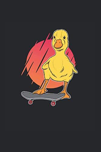 Ente Auf Skateboard: Ente Kalander Und Wochenplaner Für 2021. Als Geschenk Eine Tolle Idee Für Tierfreunde Und Natur Fans