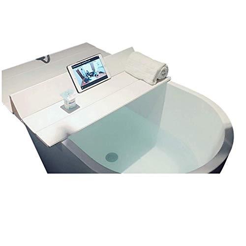 YGG-Bathtub Badewannenabdeckung Staubdichtes Brett Faltbare Badewanne Isolierabdeckung PVC-Halterung Badewanne Badewannenabdeckung Badewannenablage Badablage (Größe : 170 * 70 * 0.6cm)