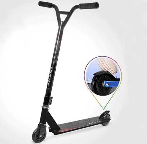 Patinete de acrobacias, patinete para niños, patinete de acrobacias, patinete de 360°, con rodamientos ABEC 9, con ruedas de poliuretano de 100 mm, para niños y adultos