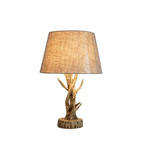 LED Tisch kreative Retro Geweih Tischlampe Dekoration Lampe, Zweig europäischen Stil personalisierte Tischlampe Tischlampe