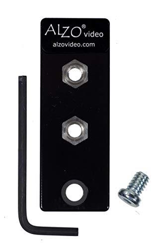 ALZO Liberator Battery Door Clearance Plate for Panasonic Lumix FZ-1000, FZ-300, FZ-200, FZ-80, FZ-82, Fujifilm X-T1, Tripod Mount Adapter Solves Battery and Memory Card Access