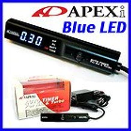 BRAND NEW APEXi Turbo Timer for NA & Turbo Black color with Blue LED display Universal Fit Made in Japan - Ropes - Amazon.com