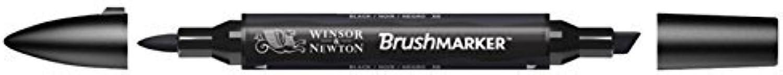 Winsor & Newton BrushMarker, schwarz by Winsor & Newton B01KBAX2HG     | Haltbar