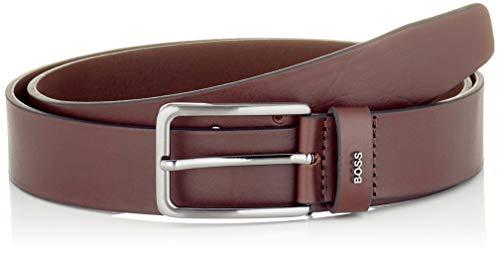 BOSS Herren Calis-Logo_Sz35 Gürtel, Dark Brown202, 100