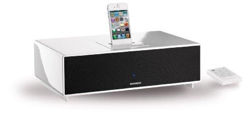Scansonic M6 Docking Aktiv-Lautsprecher für Apple iPhone/iPod weiß
