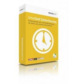 REINER SCT timeCard 6 Zeiterfassung Erweiterung um 10 MA ESD