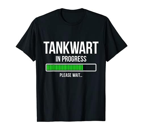 Herren Ausbildung Tankwart T-Shirt