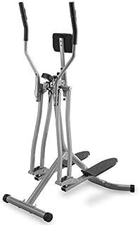 Physionics® Cross Trainer - con Display LCD, Carico Massimo 120 kg, Sensore di Frequenza Cardiaca e Supporto Addominale, A...