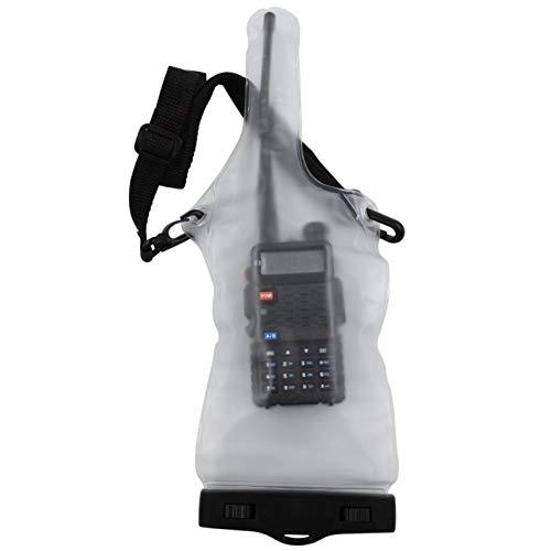 Balight Funda Impermeable para walkie Talkie, Funda Protectora Completa Impermeable para walkie Talkie con cordón