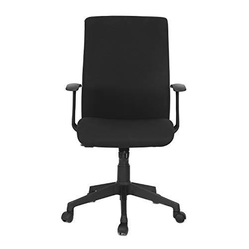 Nilkamal Fabric Series Optima Office Chair Color Black