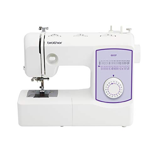 Brother Sewing Machine, GX37, 37 Built-in Stitches, 6 Included Sewing...