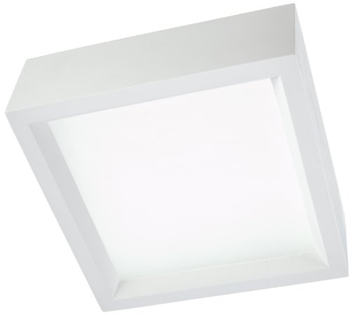 SLV 148002 Plafonnier GL104 Plâtre/Acier Blanc 50 W E27  Blanc