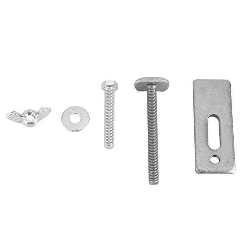 5 Stück Gravur-Maschinen-Platten-Klemme, 8 cm T-Schlitz, Arbeitstisch, Klemmmutter-Unterlegscheibe, Zubehör für CNC-Fräsen, Schnitzmaschine, Gravurmaschine