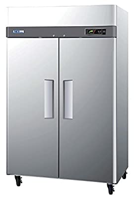 Turbo Air M3F47-2 Two Solid Door Reach-In Freezer