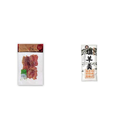 [2点セット] 薫製達人 豚バラベーコン燻製(60g)[飛騨山椒付き]・栗田の塩羊羹(160g)