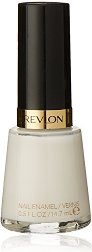 Revlon Nail Enamel, Chip Resistant Nail Polish, Glossy Shine Finish, in White, 008 Ethereal, 0.5 oz