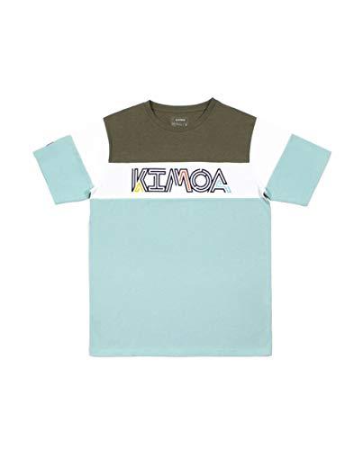 Kimoa Camiseta Island, Unisex Adulto, Azul_Pastel, XL