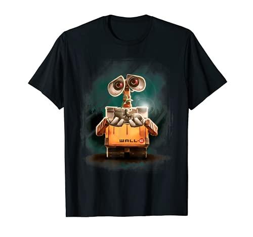 Disney Pixar Wall-E Plant Shoe Night Graphic T-Shirt