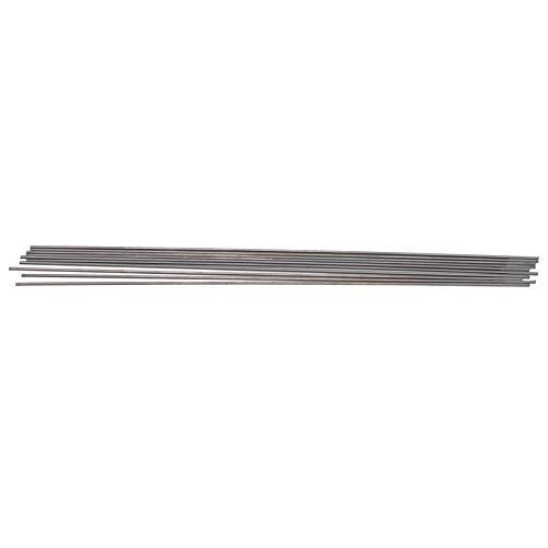 10 Uds WC20 varilla de electrodo de tungsteno Tig Arc aguja para soldar acero inoxidable fino gris seguro y estable en uso