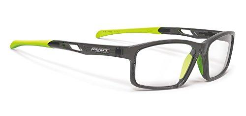 RUDY PROJECT Brillen Gafas de Vista INTUITION LARGE B CRYSTAL LIME ASIAN FIT NOSE PADS BLACK 56/17/138 Unisex