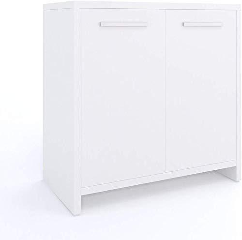 Vicco Badezimmerschrank Kiko Unterschrank Waschbeckenunterschrank Hochschrank Badmöbel Schrank Midi-Schrank Badregal