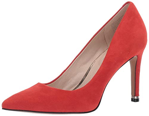 Kenneth Cole New York Women's Riley 85 Pump, Red Suede, 7.5