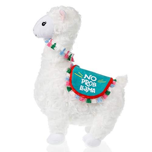 Product Image of the Llama Stuffed Animal - Cute Llama Doll - Llama Plush with No Prob Llama Blanket...