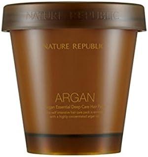 [ネイチャーリパブリック] Nature Republic アルガンエッセンシャルディープケア ヘアパック Argan Essential Deep Care Hair Pack [並行輸入品]