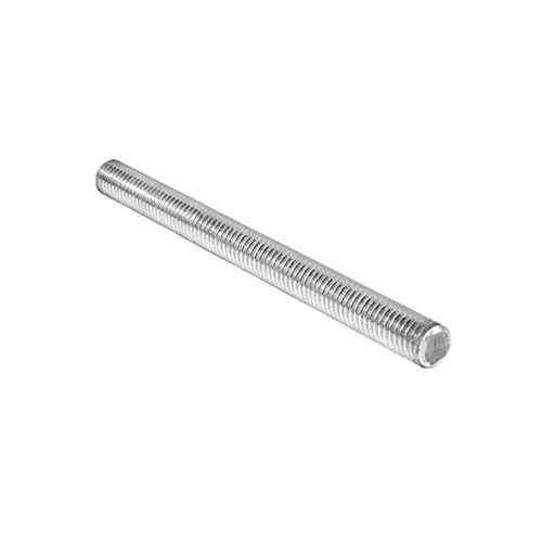 Hooshing 8Pcs M8 x 100mm Stainless Steel Fully Threaded Rod, Long Threaded Screw Right Hand Threads
