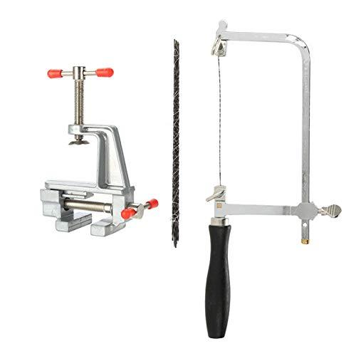 Abrazadera de banco de alta resistencia, delicado tornillo de banco de joyería de alta dureza, herramienta de joyería duradera, para reparación de joyería, para corte de sierra, para