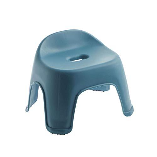 huixu Taburetes de plástico Gruesos para niños, Banco de baño Antideslizante para Sala de Estar, Taburete para niños, Taburete para Cambiar Zapatos