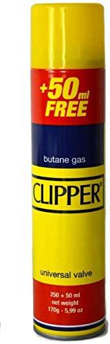 Frenterprises Genuine 300ml Butane Gas Clipper – Gas Fuel Lighter Refill – Premium Quality – Universal Valve Butane Gas Lighter Refill Fluid – Portable and Lightweight – Ideal for Outdoor Cooking (4)