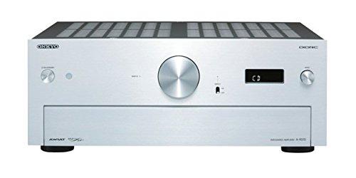 Onkyo A-9070 Stereo-Verstärker (2X 140 Watt, AWRAT, DIDRC, 3 Digitaleingang) Silber