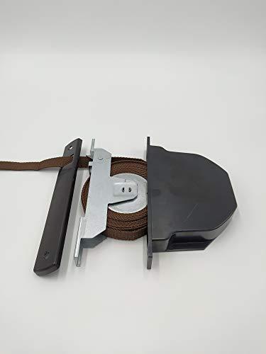 Recogedor de empotrar en guía con cinta de 16mm (Marron)