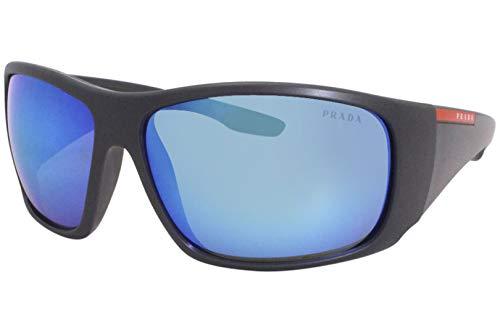 Prada Sport - Gafas de sol unisex para adulto PS 04VS Grey Demishiny 66 cm