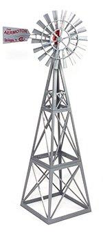 Big Country Toys Aermotor Windmill - 1:20 Scale - Farm Toys - Ranch Toys - Replica Aermotor Windmill Toy- Plastic