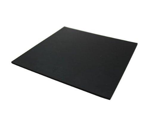 光 ゴム板(天然)黒 5×300×300mm 00781536-1 GR5-30
