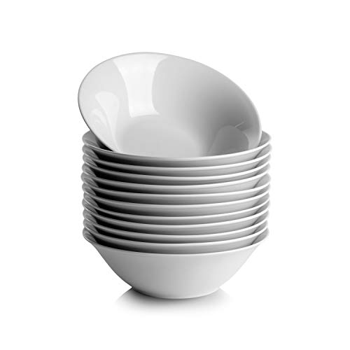 10 Strawberry Street Round Cereal Bowl, White