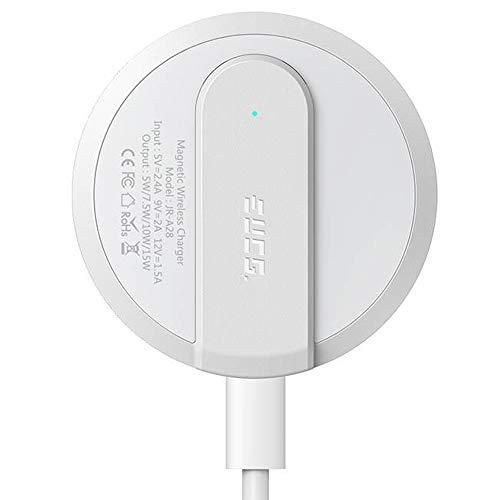 EUCG Cargador Magnético Inalámbrico Compatible con MagSafe Rápido 15W con tecnología FreezeCharge para iPhone 13 / Pro/MAX/Mini/iPhone 12 | Airpods 3 / Pro / 2