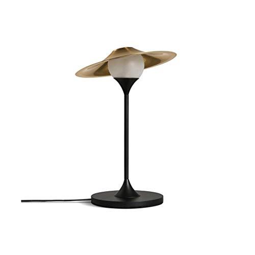 HTL Lámpara de Mesa de Dormitorio Led Nórdica Lámpara Moderna Lámpara de Escritorio Lámpara de Estar Lámpara de Mesa Lámparas de Escritorio para Dormitorio,Luz Blanca