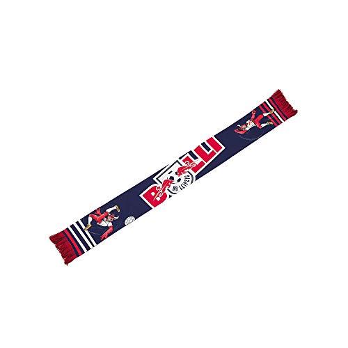 RB Leipzig Bulli Schal, Blau Youth One Size Halstuch, RasenBallsport Leipzig Sponsored by Red Bull Original Bekleidung & Merchandise