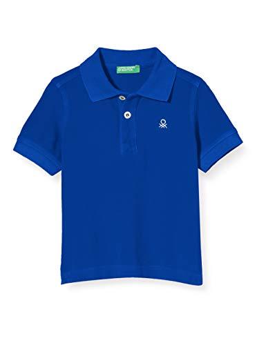 United Colors of Benetton Maglia Polo M/m, Azul (Surf The Web 19r), 80/86 (Talla del Fabricante: 1Y) para Bebés