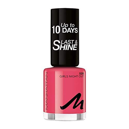 Manhattan Last und Shine Nagellack, Nr.520 Girls Night Out, 1er Pack (1 X 10 ml)