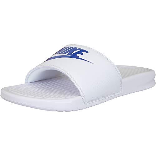 Nike Benassi JDI Chanclas Nikeletten, color Blanco, talla 44 EU